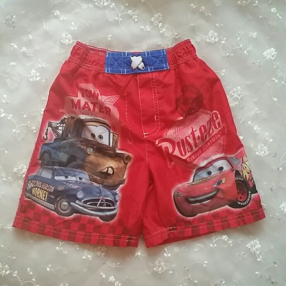 831b54b42b Disney-Pixar Swim | Boys Disneypixar Cars Ming Trunks | Poshmark